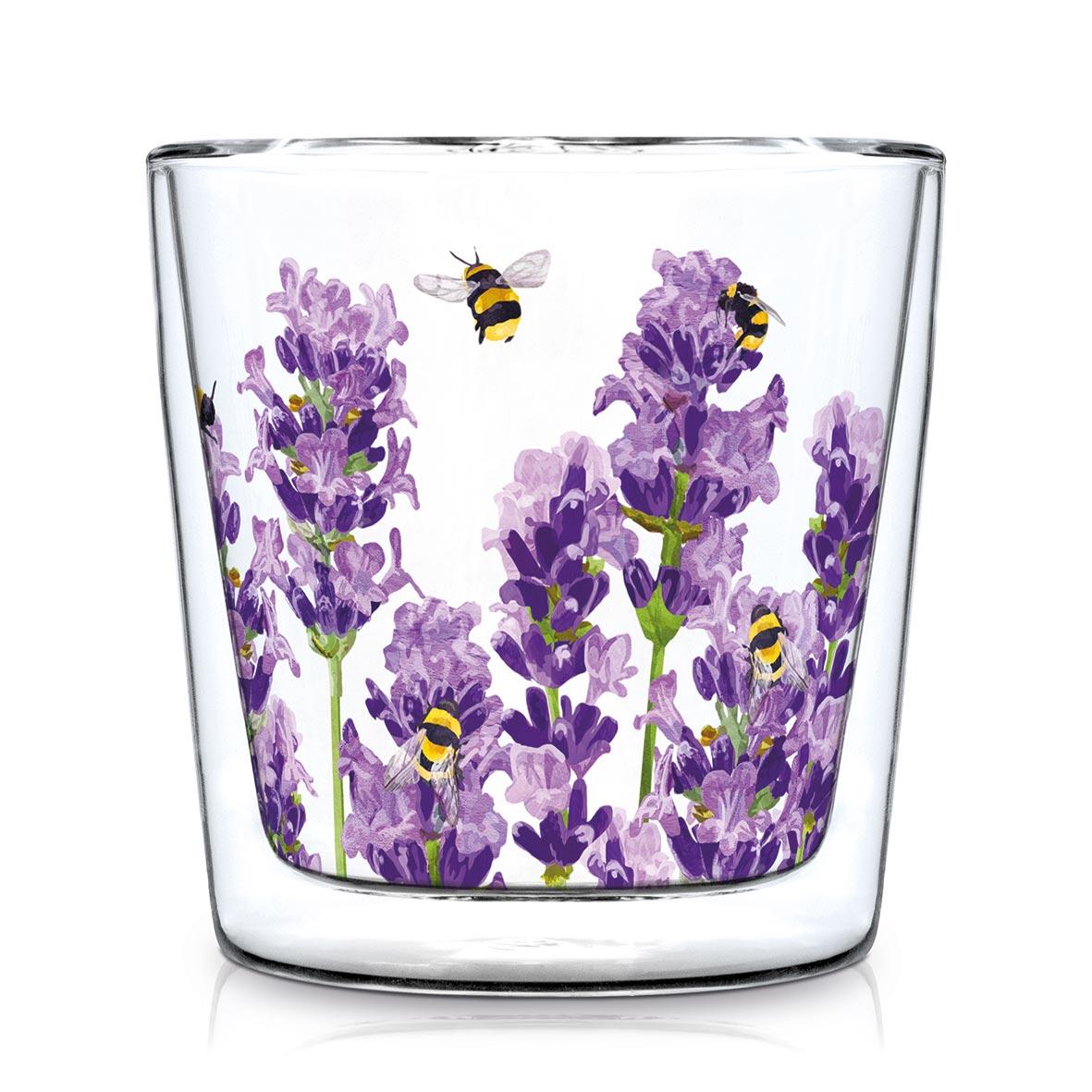 Bees & Lavender Trendglas DW