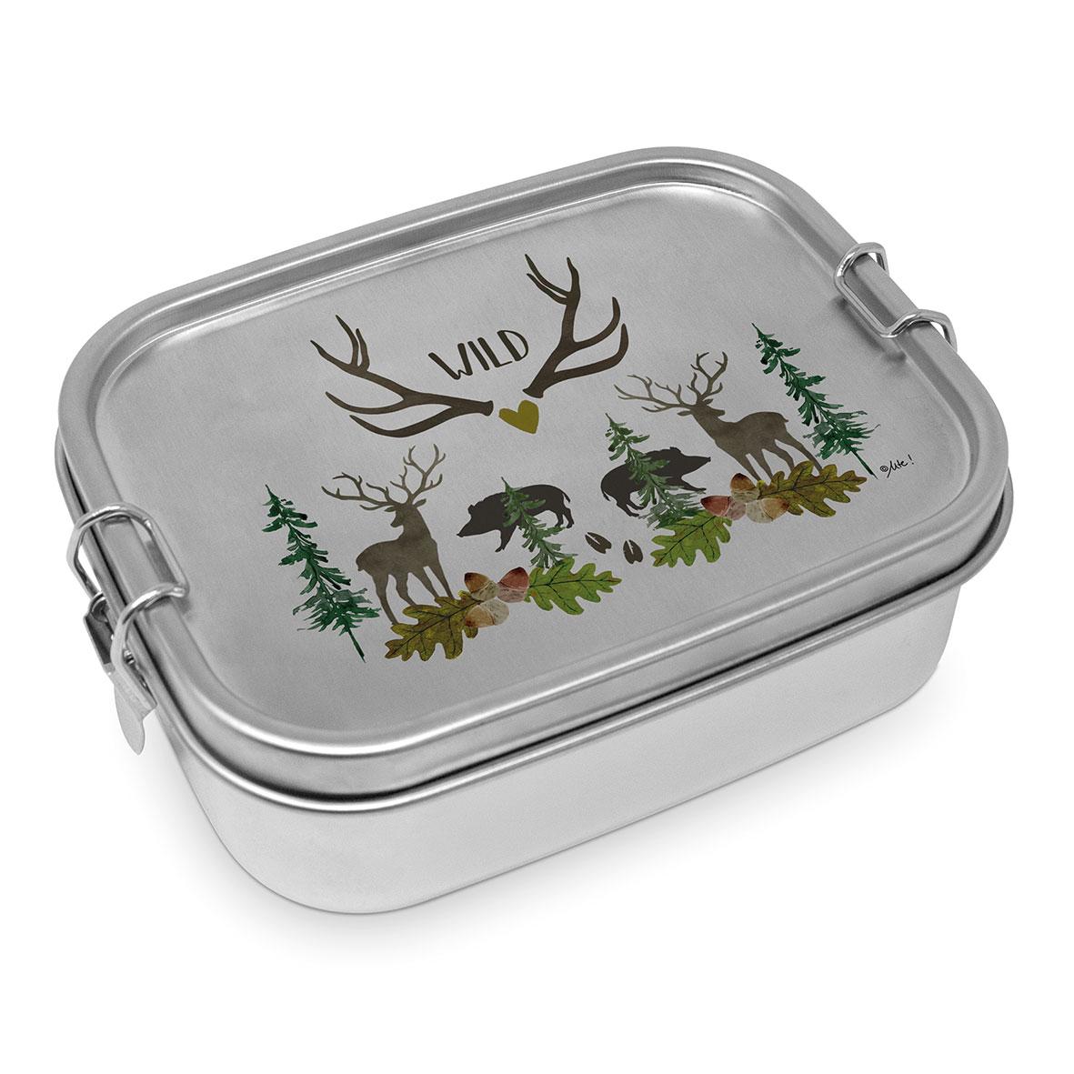 Wild Steel Lunch Box