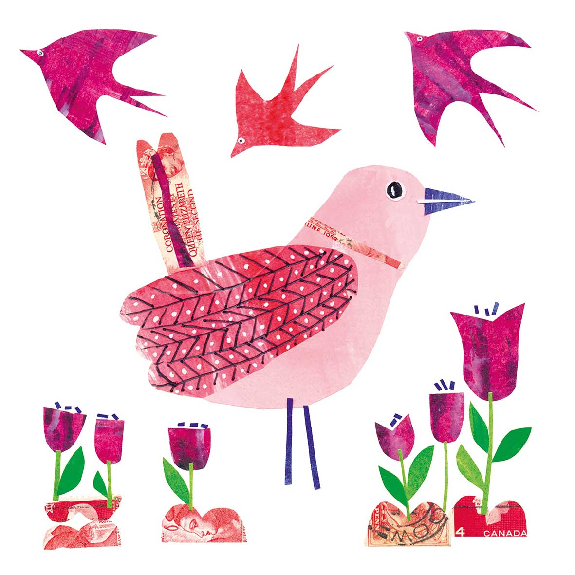Beauty Bird Napkin 33x33