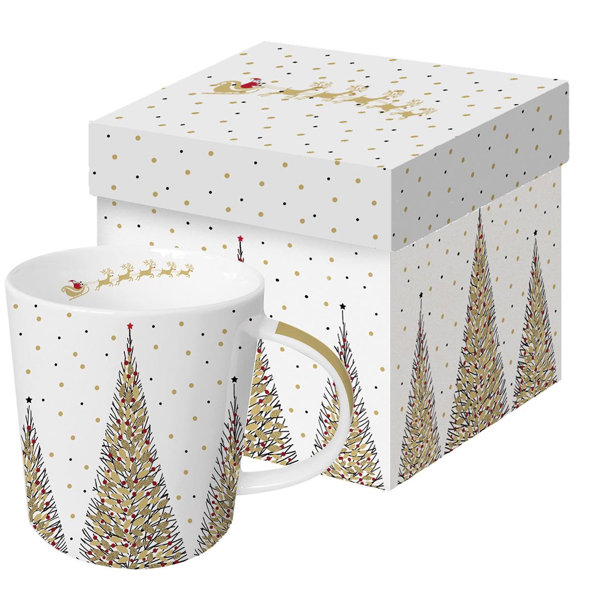 Joyeux Noel Real Gold Trend Mug GB