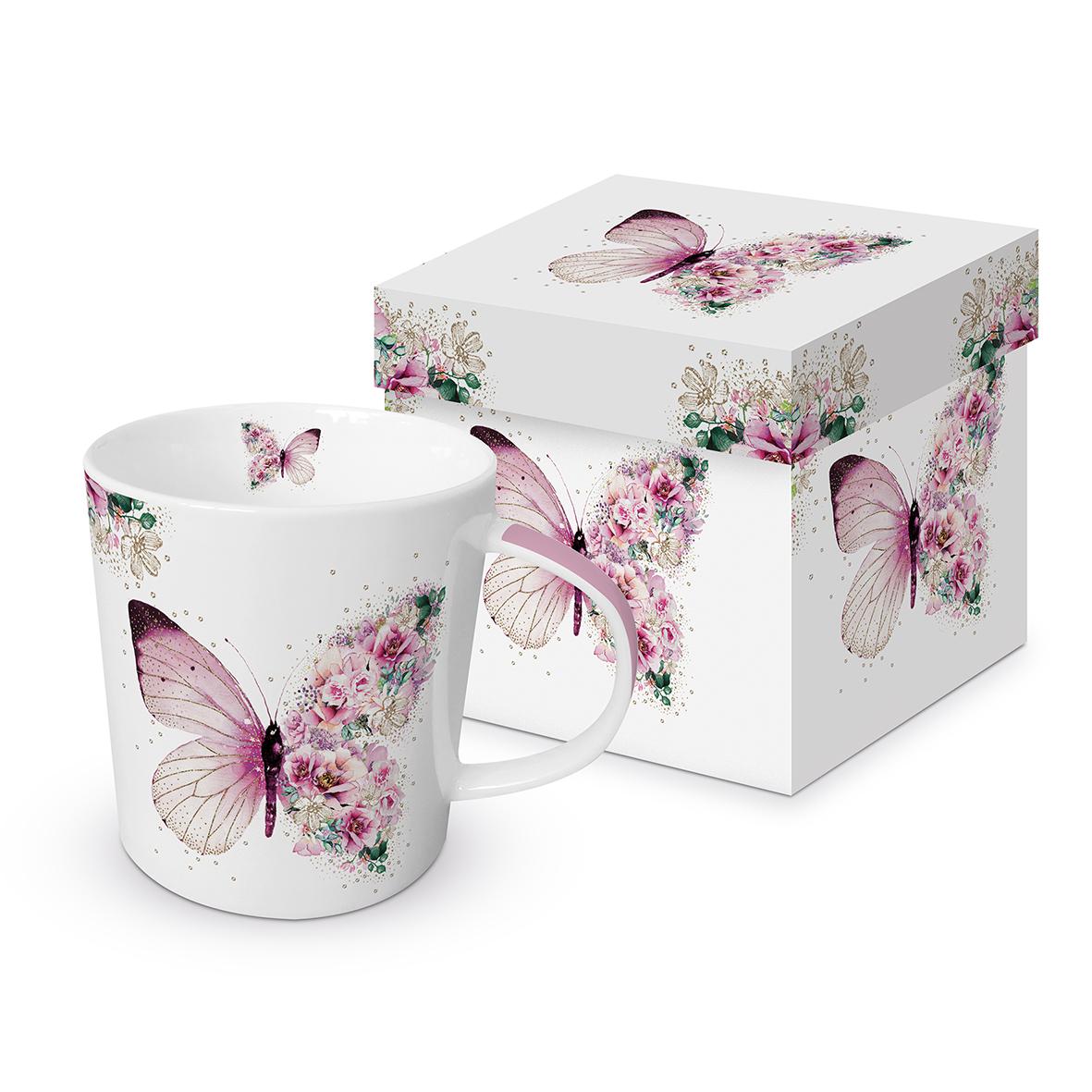 Trend Mug GB Butterfly Flowers