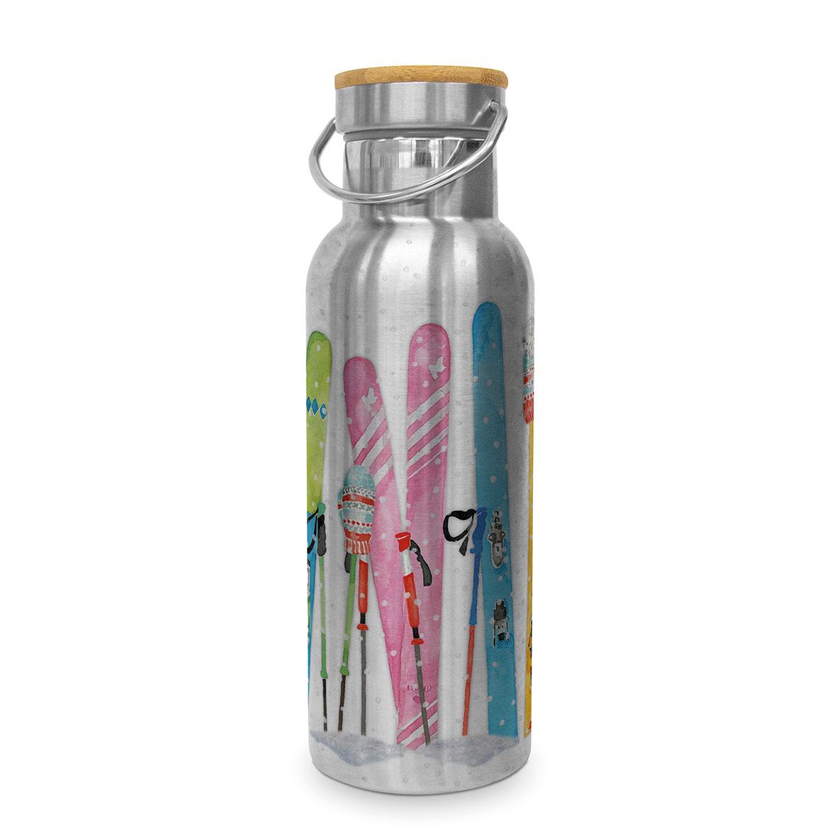 Skiing Steel Bottle 0,50