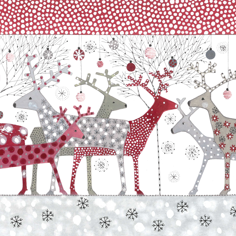 Scandic Christmas Napkin 33x33