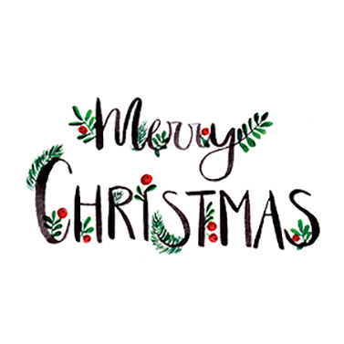 Merry Christmas 25x25 cm