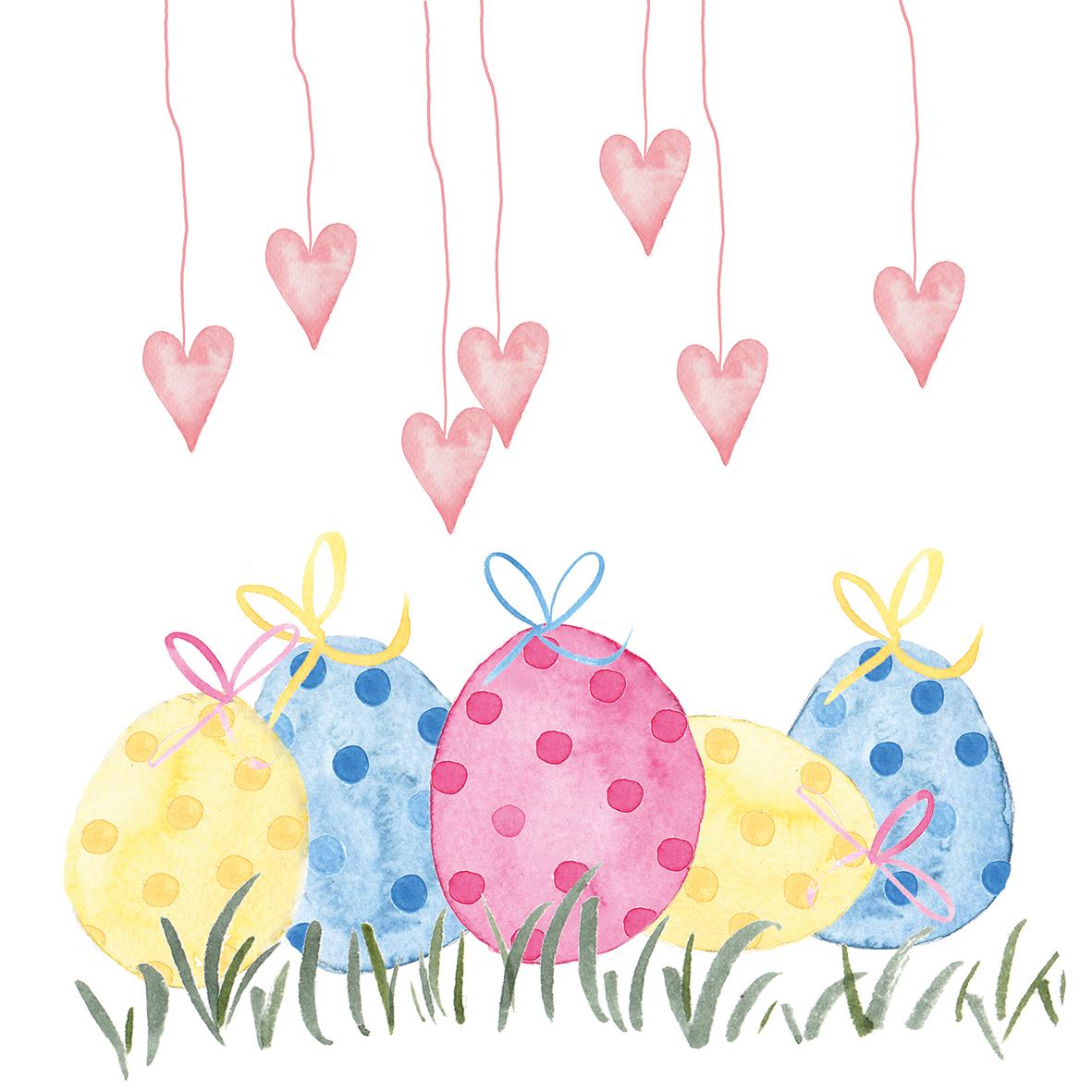 Lovely Easter 33x33 cm