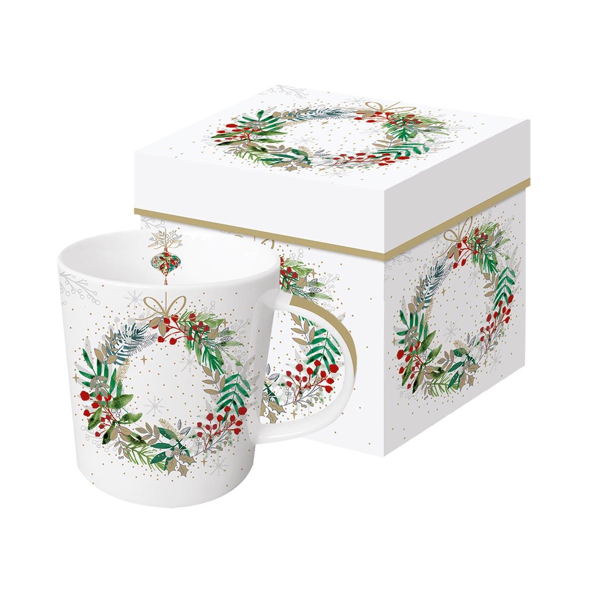 Festive Wreath Trend Mug GB