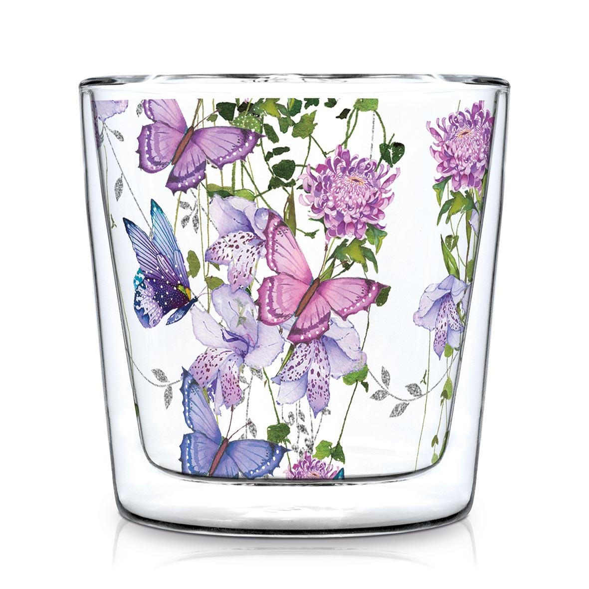 Doublewall Trendglass Flower Splash