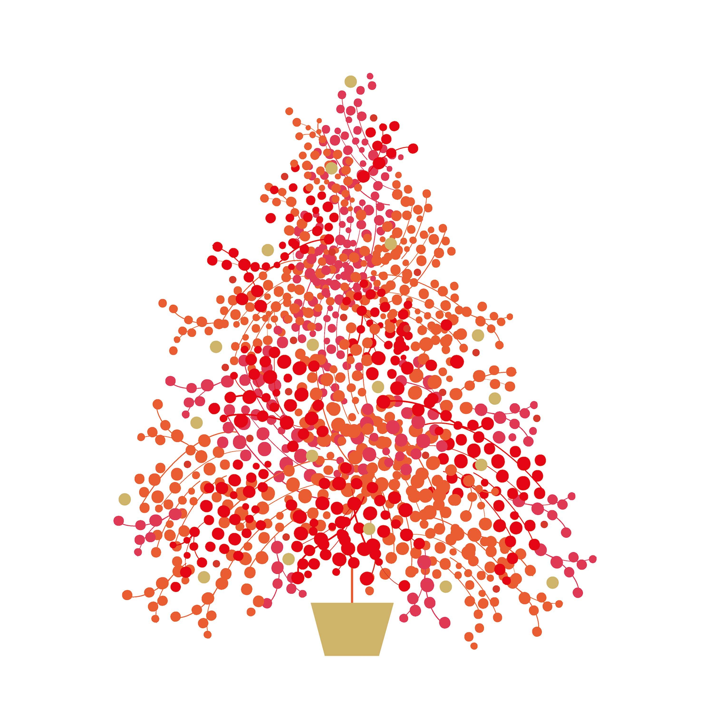 Season´s Tree Napkin 33x33