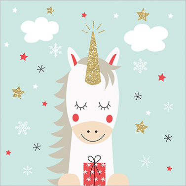 Dreaming Unicorn 33x33 cm
