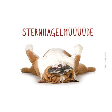 Tray Sternhagel Müde