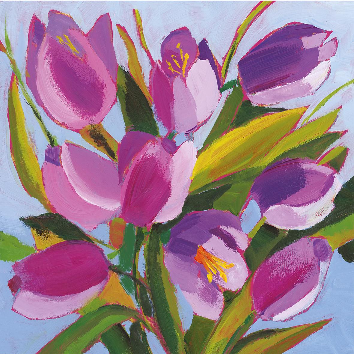 Tulips Musée 25x25 cm