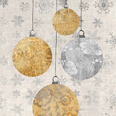 Holiday Ornaments 25x25 cm