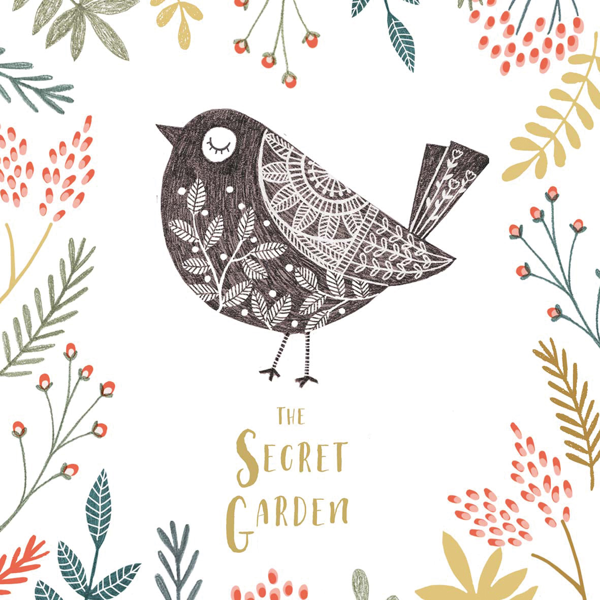 Secret Garden Napkin 33x33