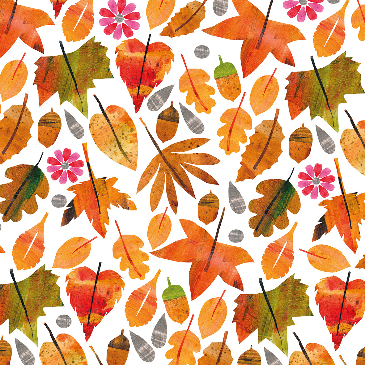Autumn Leaves Napkin 33x33