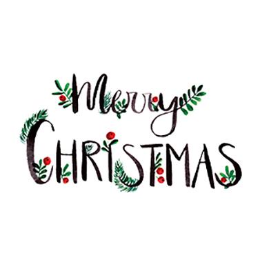 Merry Christmas 33x33 cm