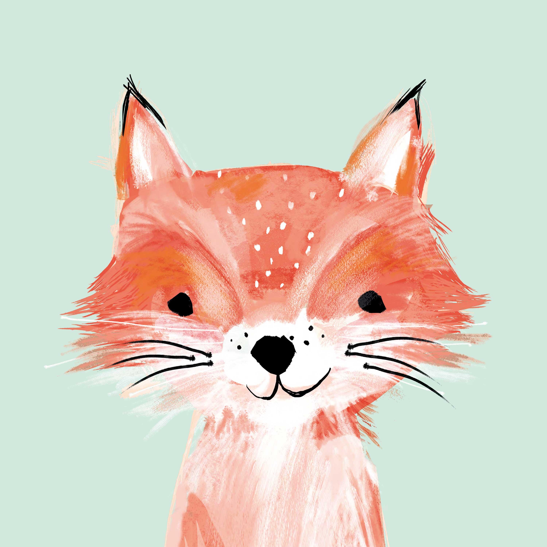 Foxy Napkin 33x33
