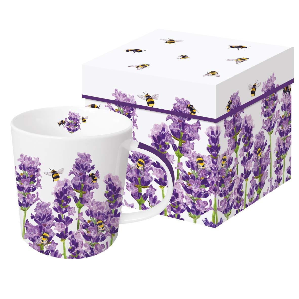 Bees & Lavender Trend Mug GB