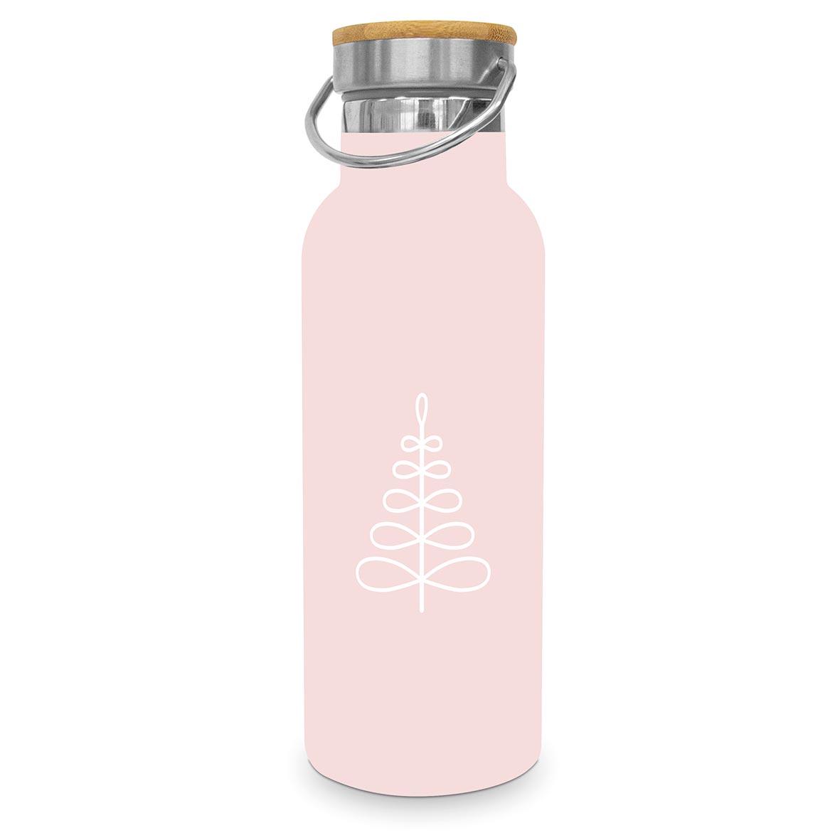 Pure Mood rosé Steel Bottle 0,50