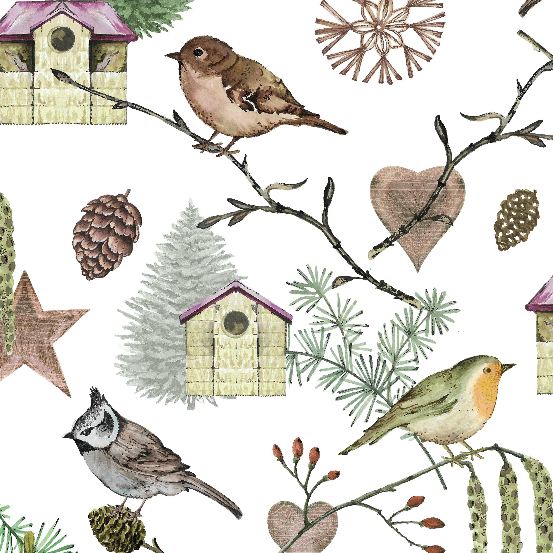 Bird Land Napkin 33x33