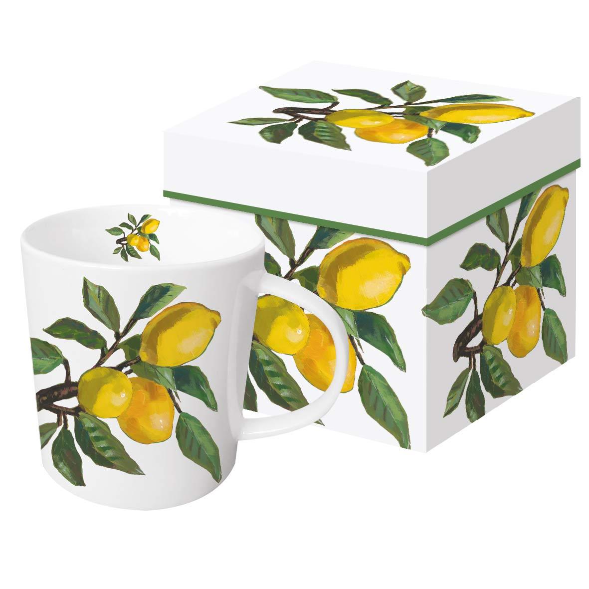 Lemon Musée white Trend Mug GB