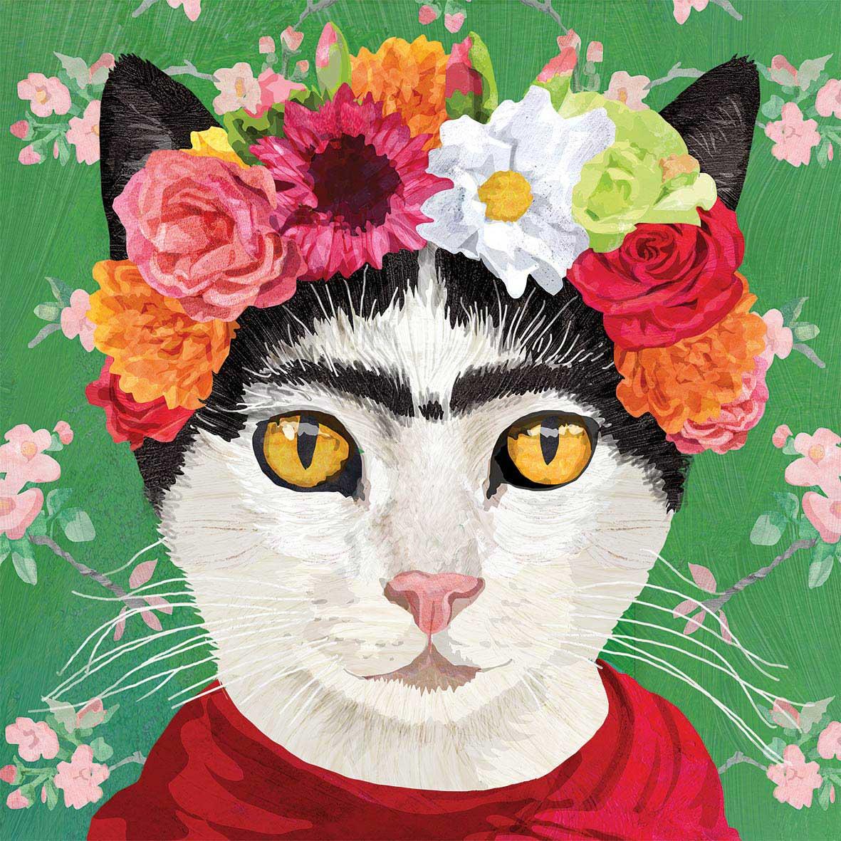 Frida Napkin 25x25