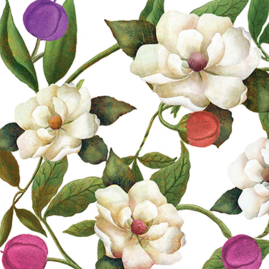 Southern Magnolias 33x33 cm
