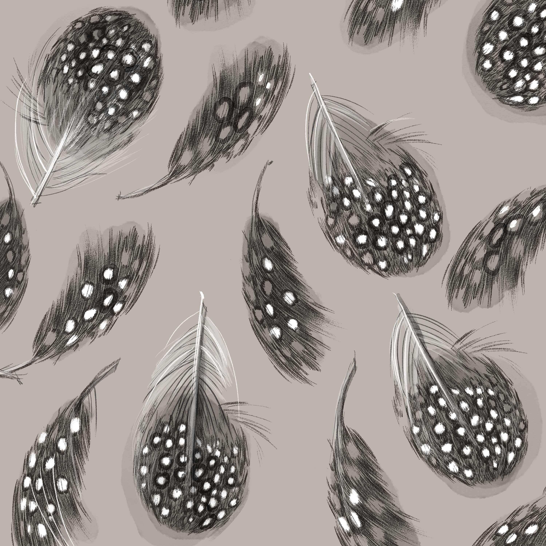 Feathers Napkin 33x33