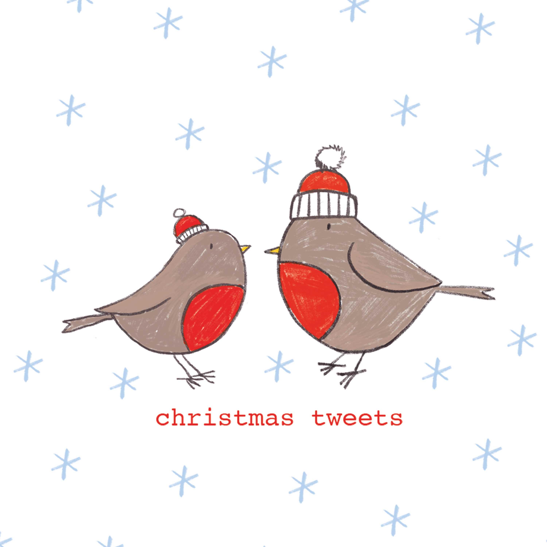 Christmas Tweets Napkin 25x25