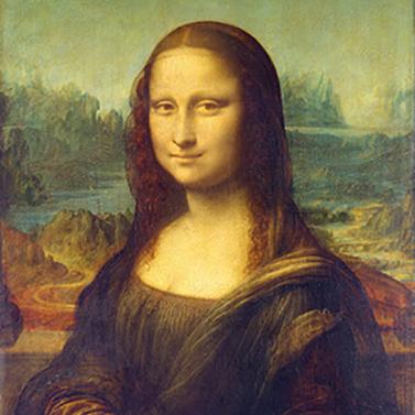 Mona Lisa (La Gioconda) 33x33 cm