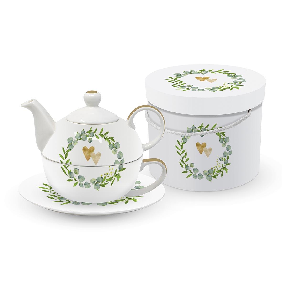 Two Hearts Tea4one Set GB