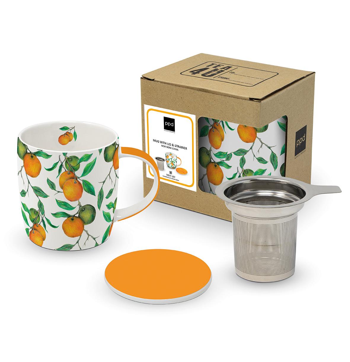 Beautiful Oranges T-Mug CB