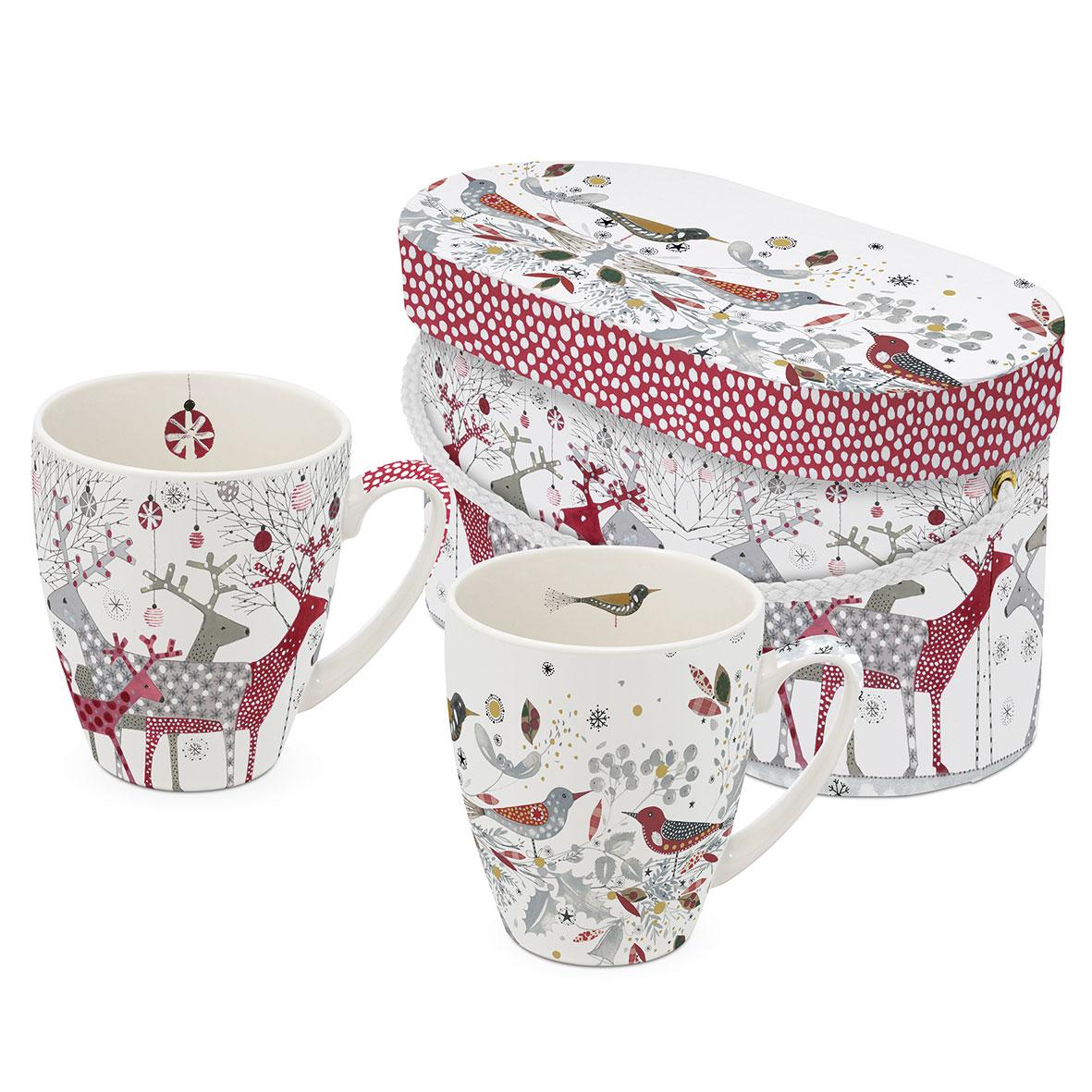 Scandic Christmas 2 Mug Set GB