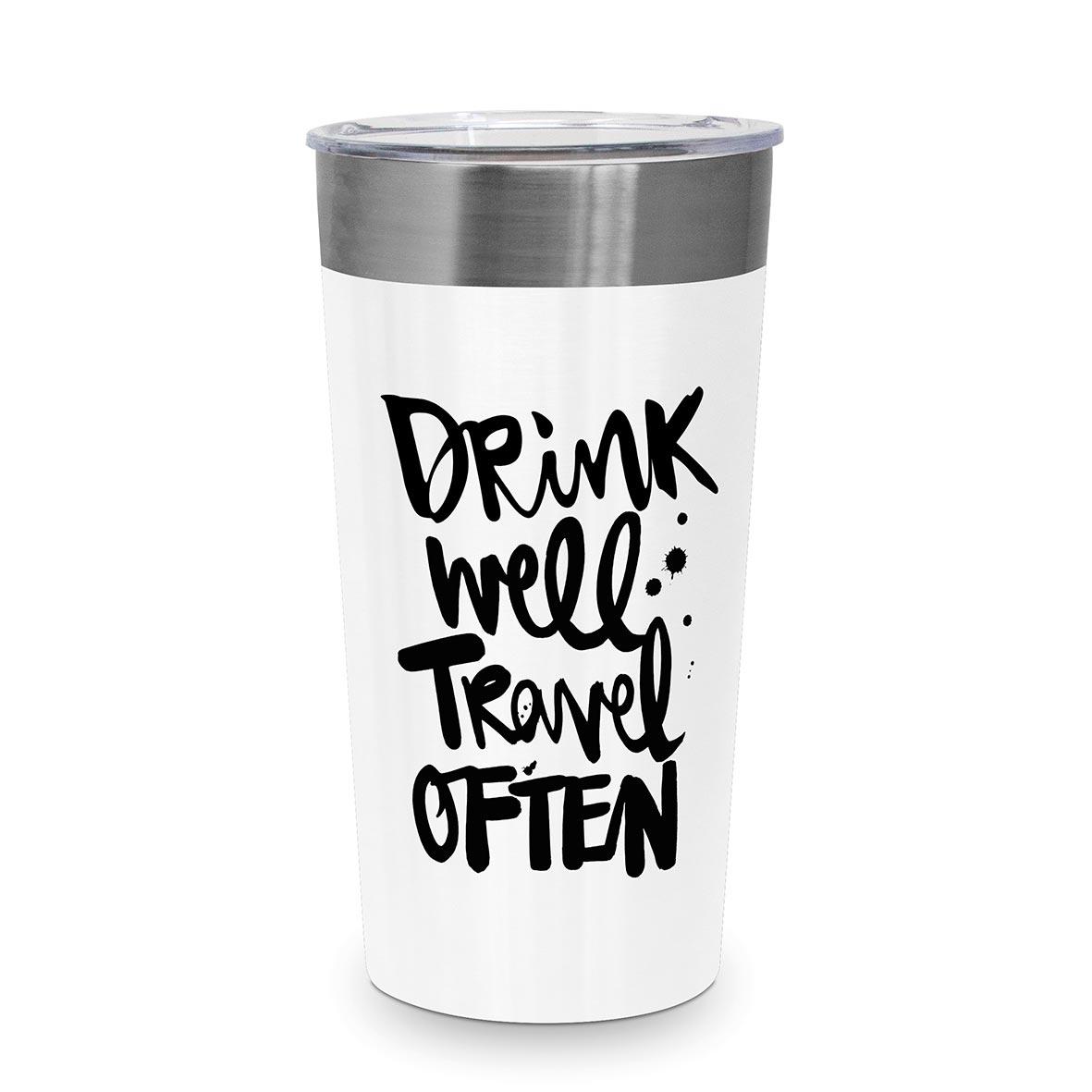 Drink well Steel Travel Mug
