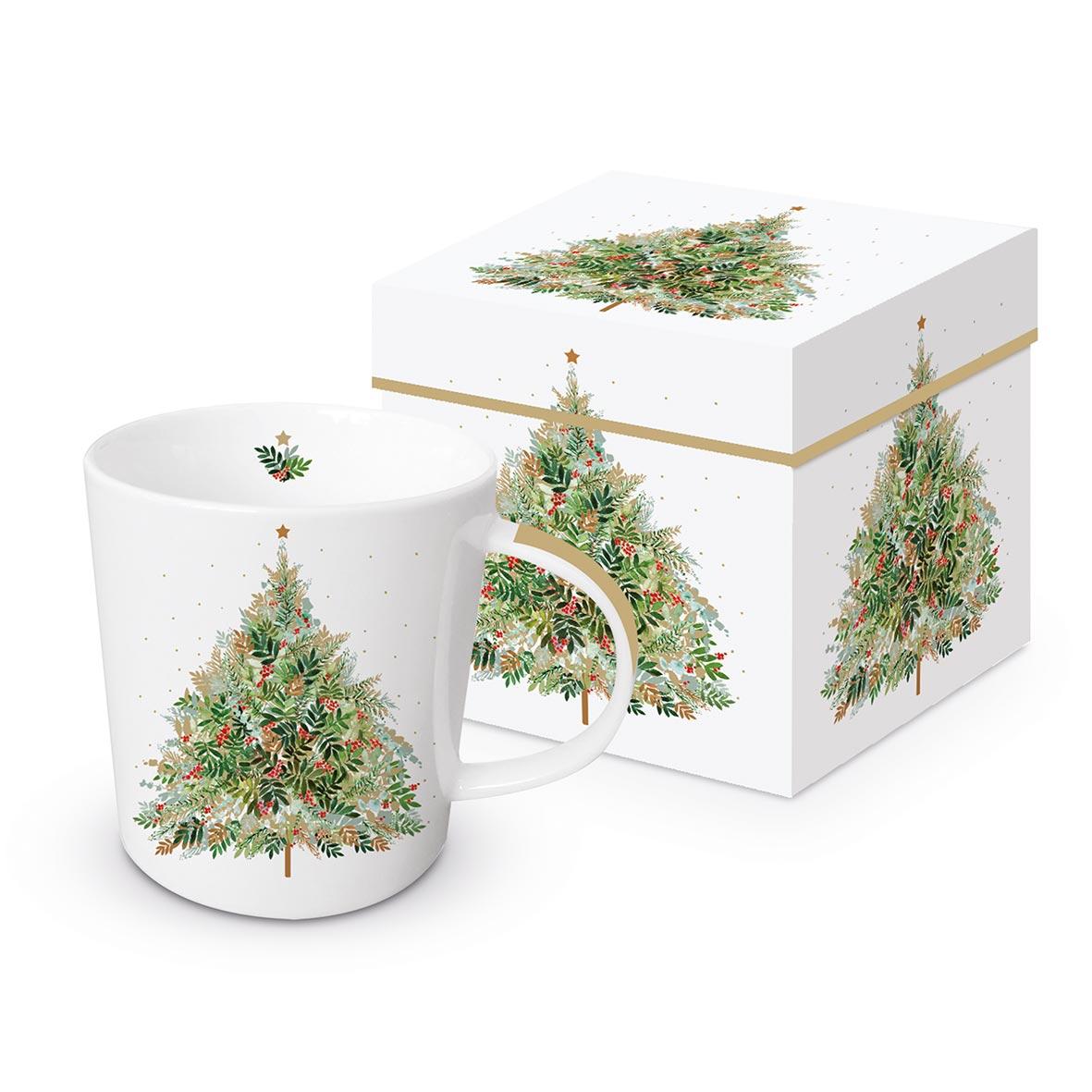 Christmas Hill Tree Trend Mug GB