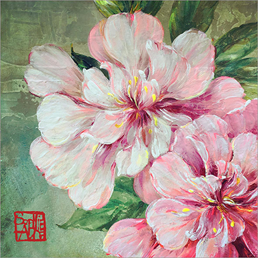 Jolies Roses 33x33 cm