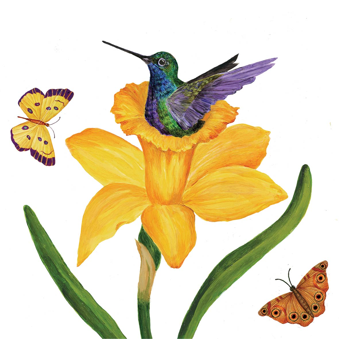 Daffodil Nest Napkin 25x25