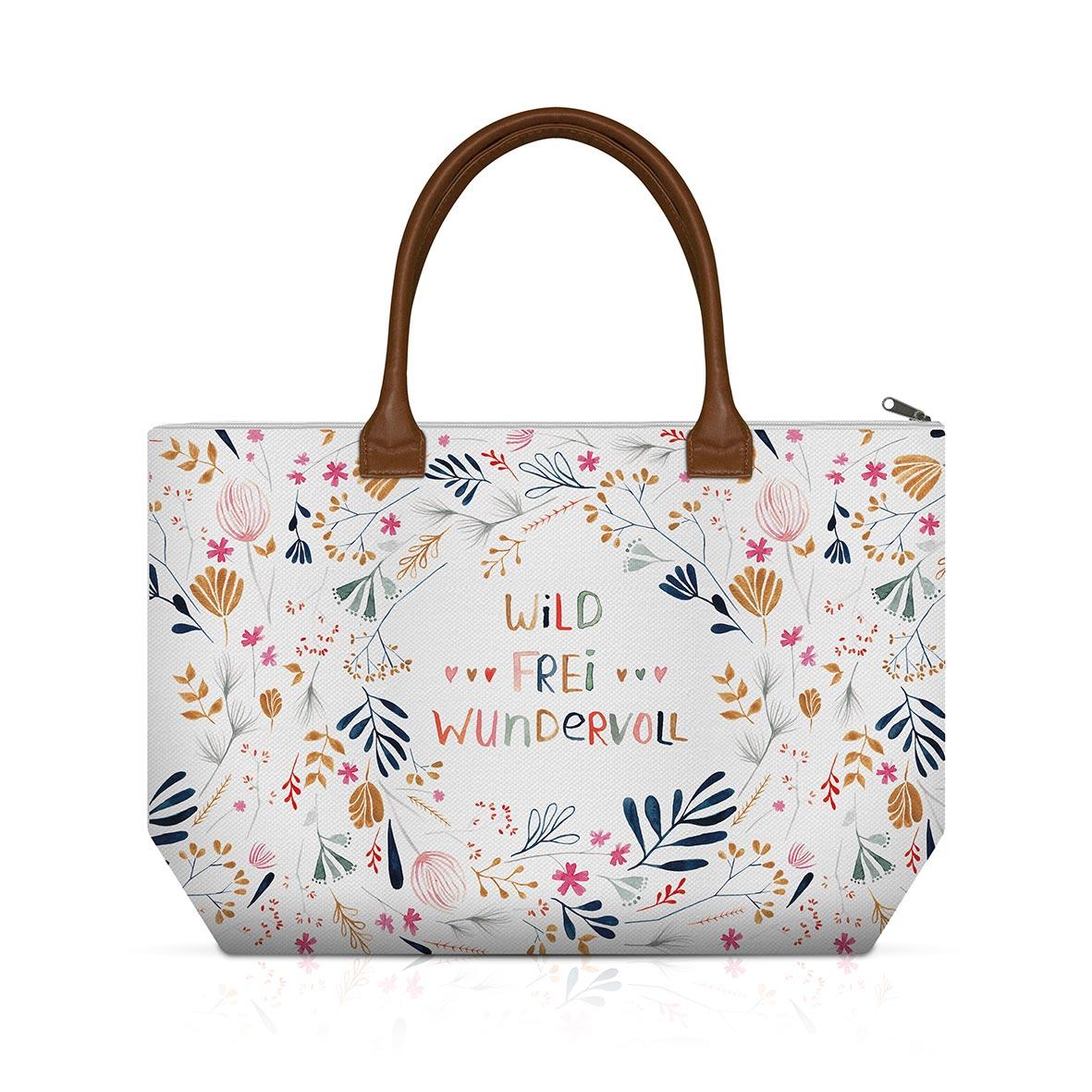 Wild, Frei, Wundervoll Shopping Bag