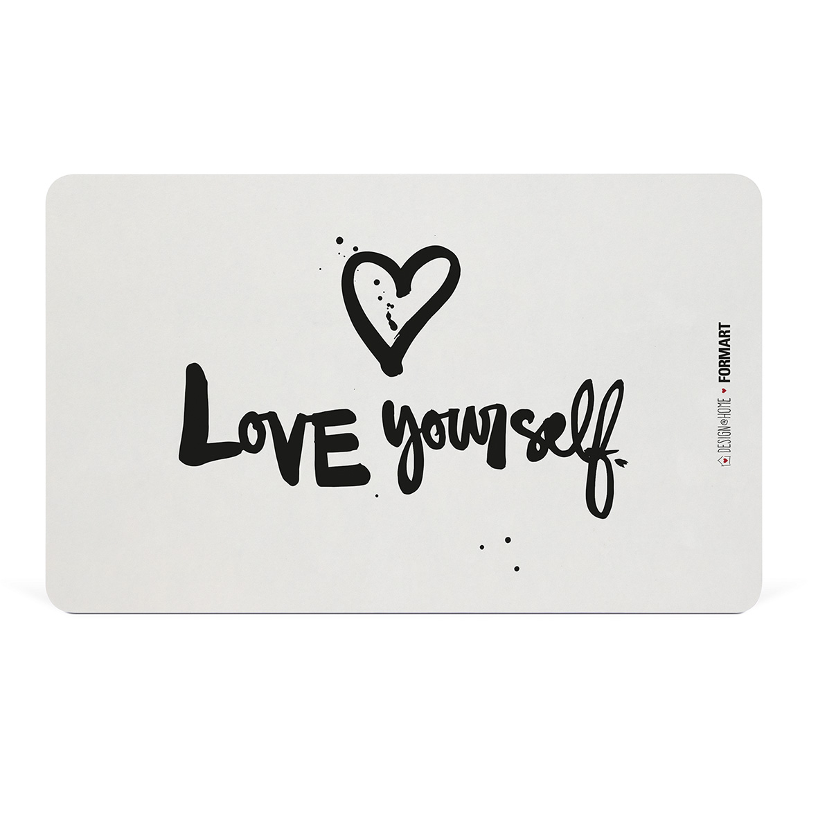 Love yourself Tray D@H