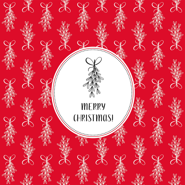 Christmas Two Napkin 33x33