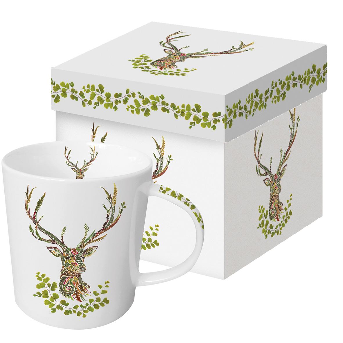 Green Deer Trend Mug GB
