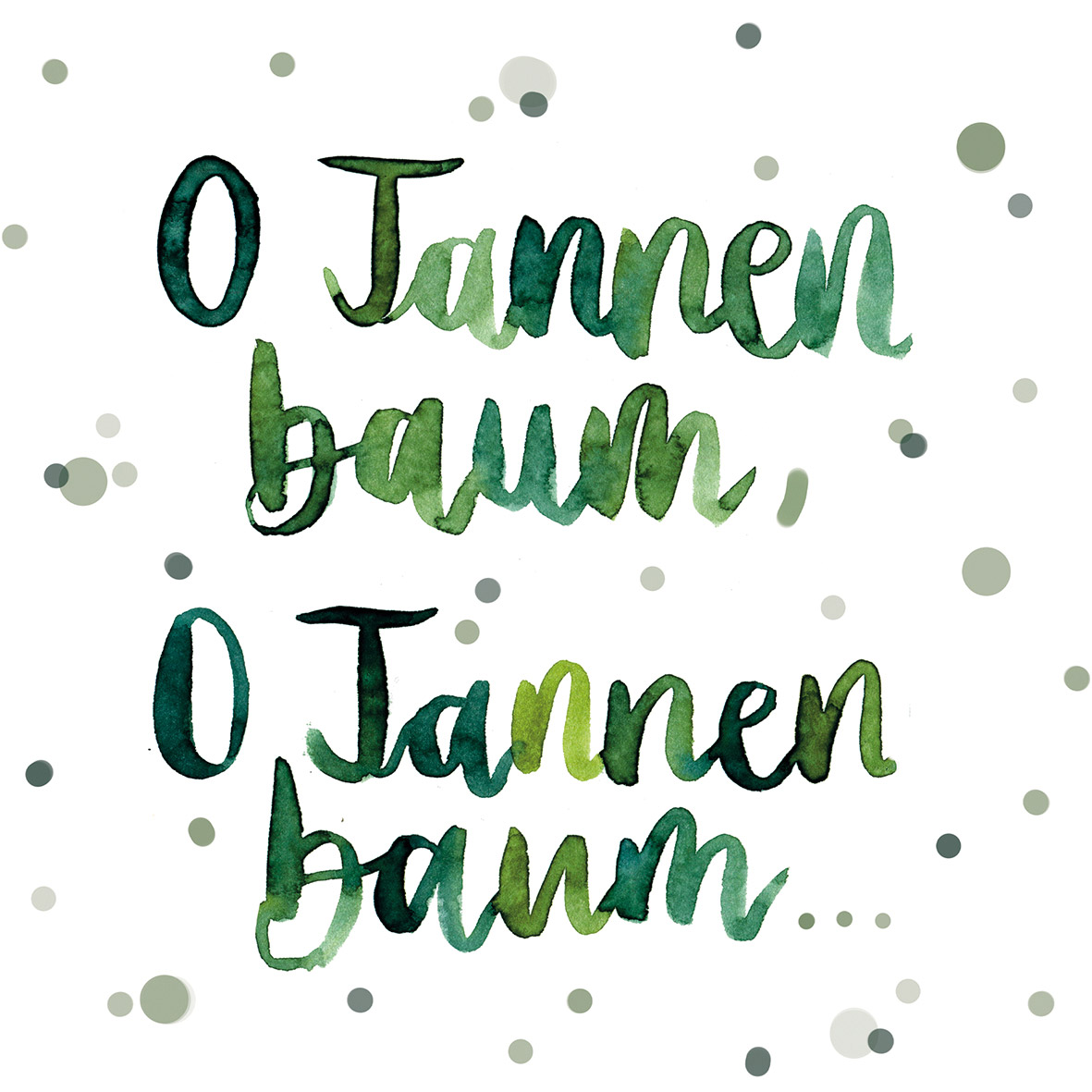 O Tannenbaum Napkin 33x33
