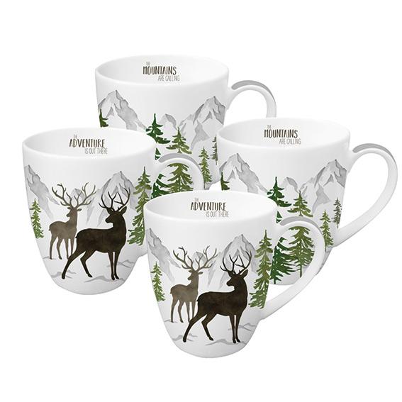 Adventure 4 Mug Set