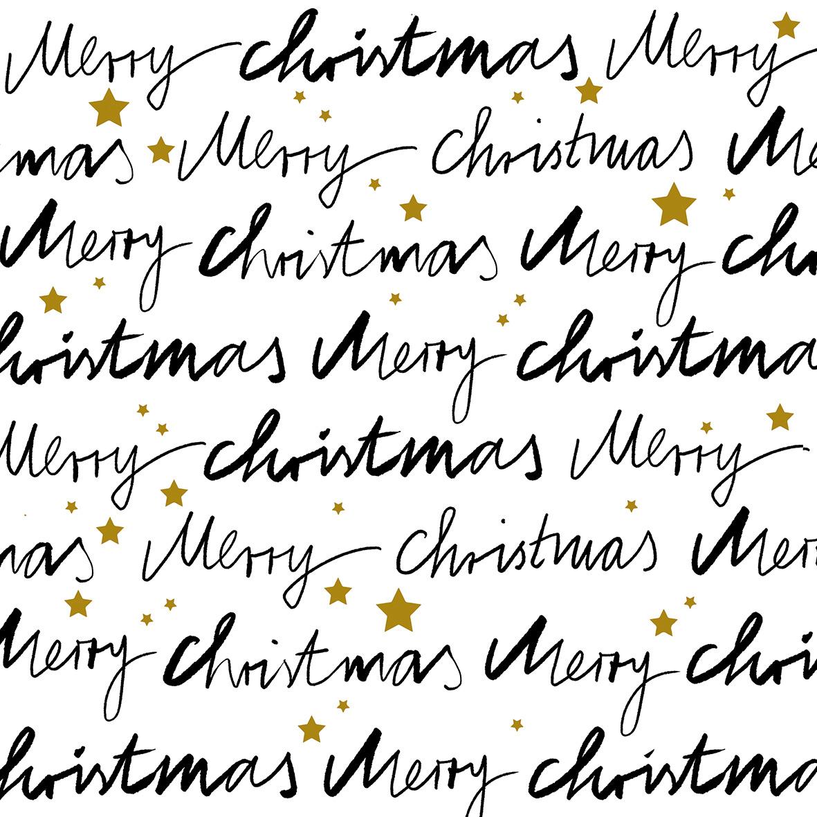 Merry X-Mas Napkin 33x33