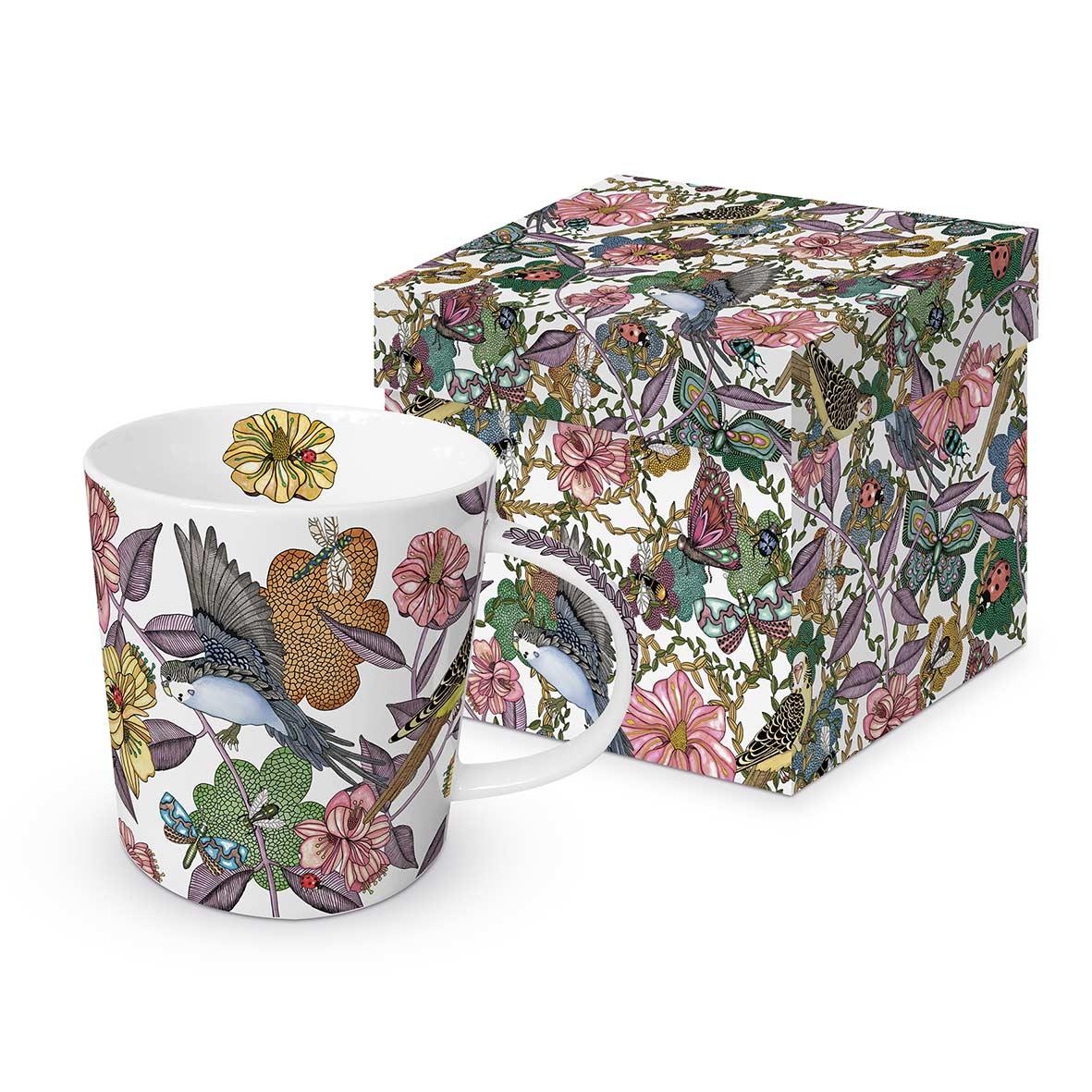 Trend Mug GB Birds & Flowers