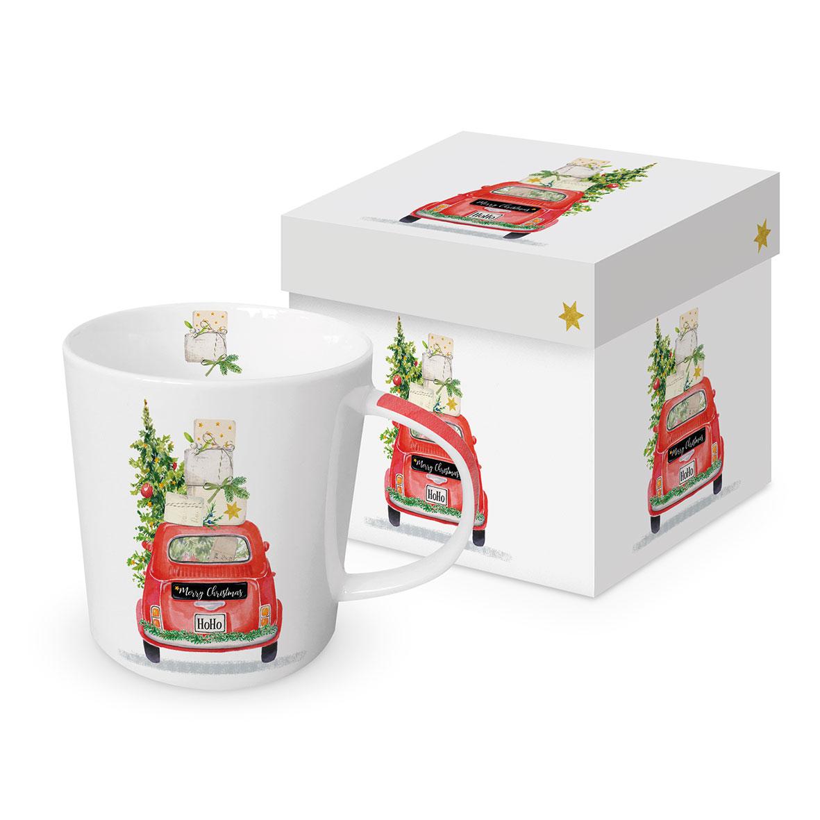 Christmas Taxi Trend Mug GB