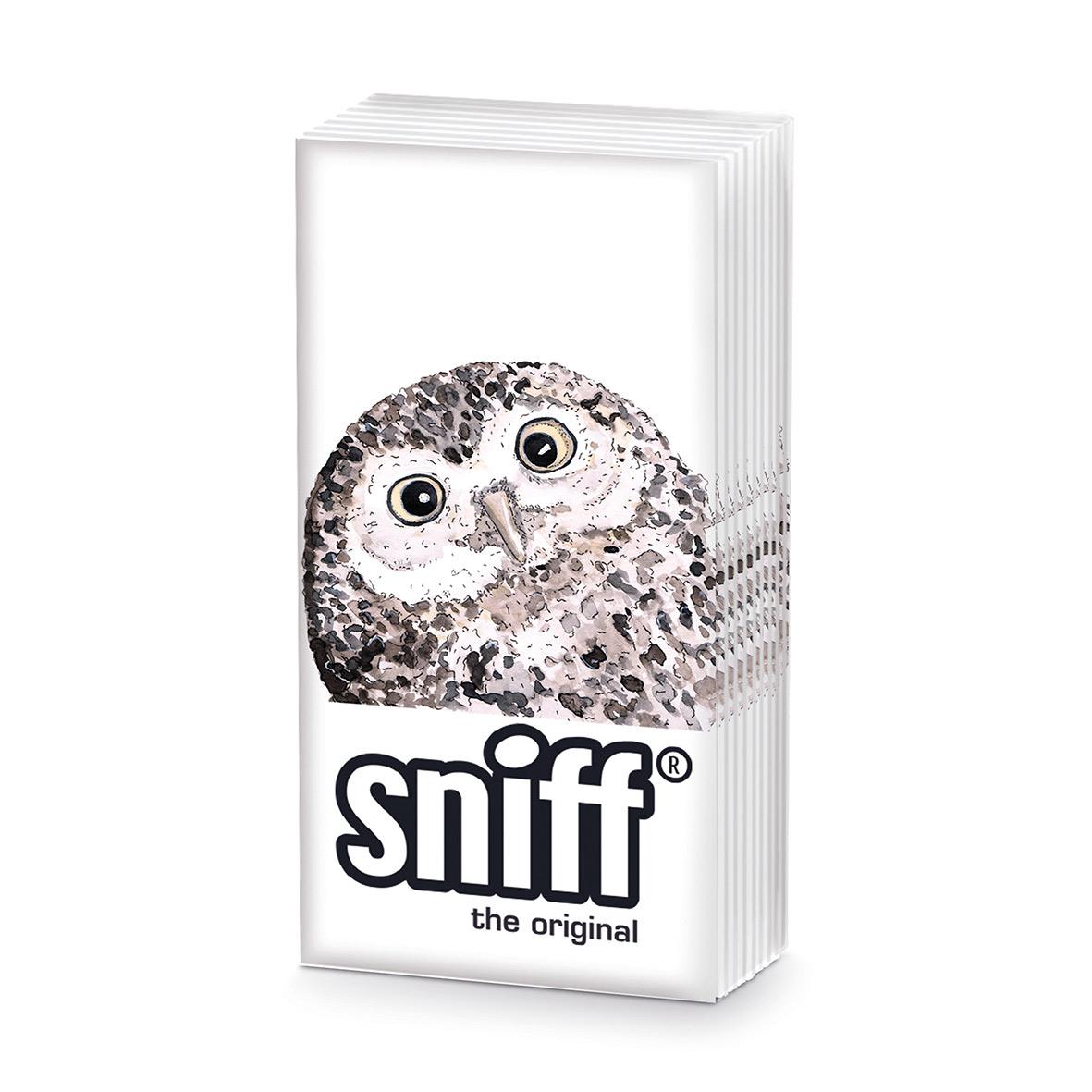 Owl HandkerchiefSniff