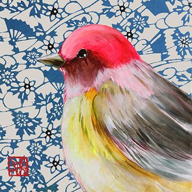 Joli Oiseau 33x33 cm