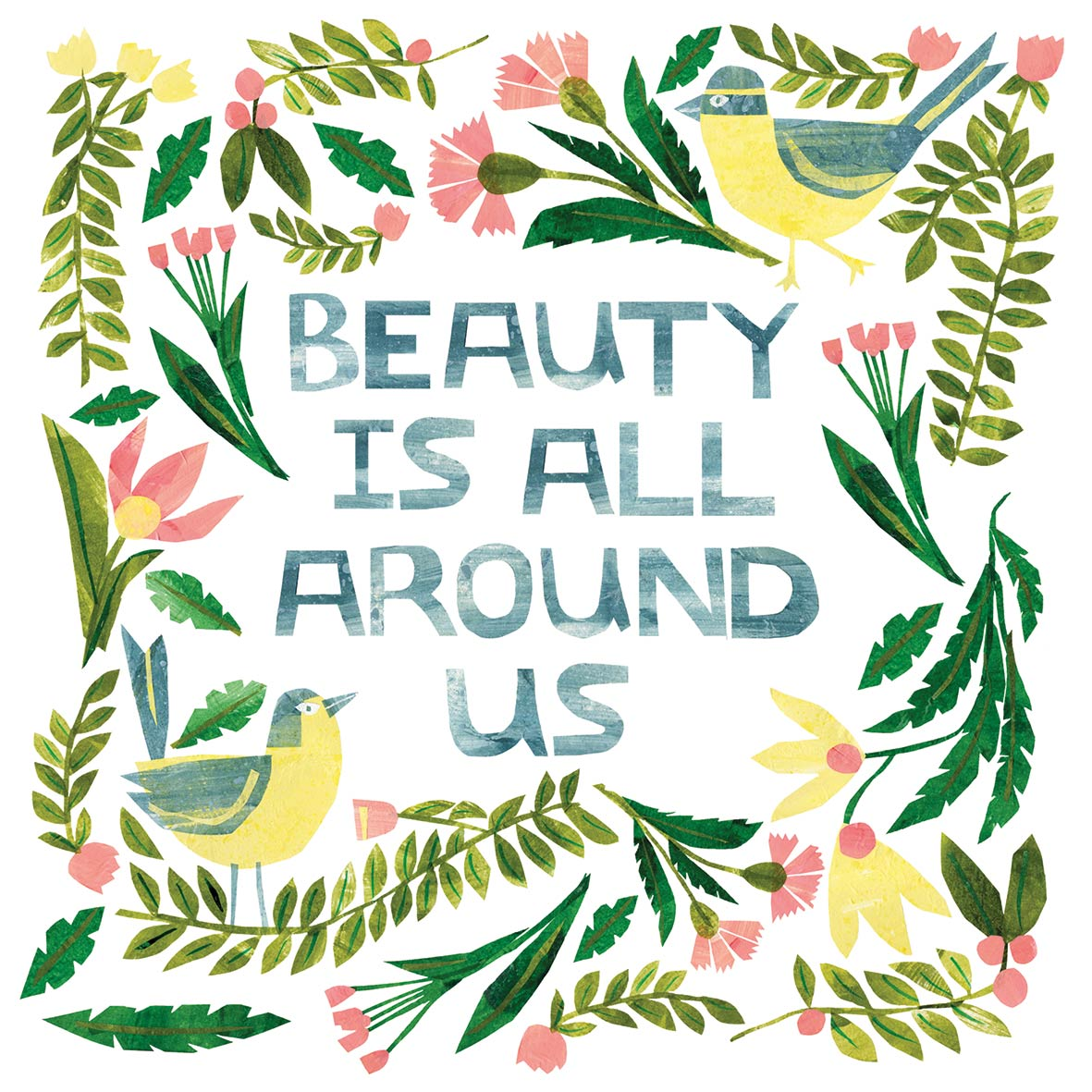 Beauty is around Napkin 33x33