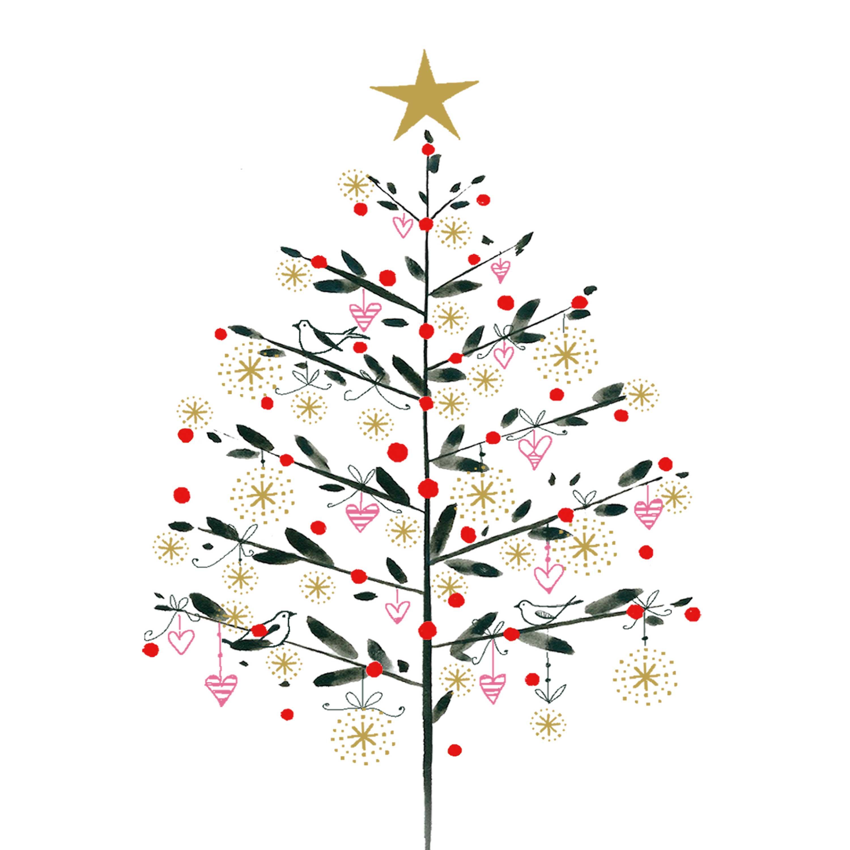 Simply Christmas Napkin 33x33