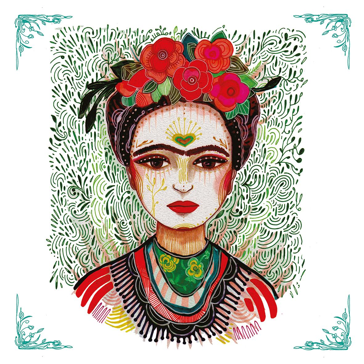 Frida: Memory the Heart 33x33 cm